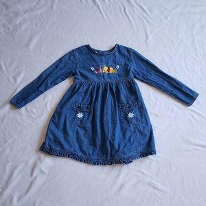 VTG Disney store winnie the pooh denim dress 7